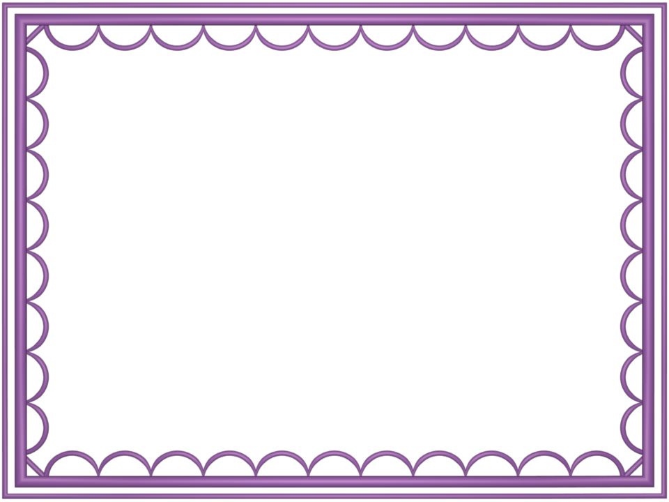Color border png. Mauve artistic loop rectangular