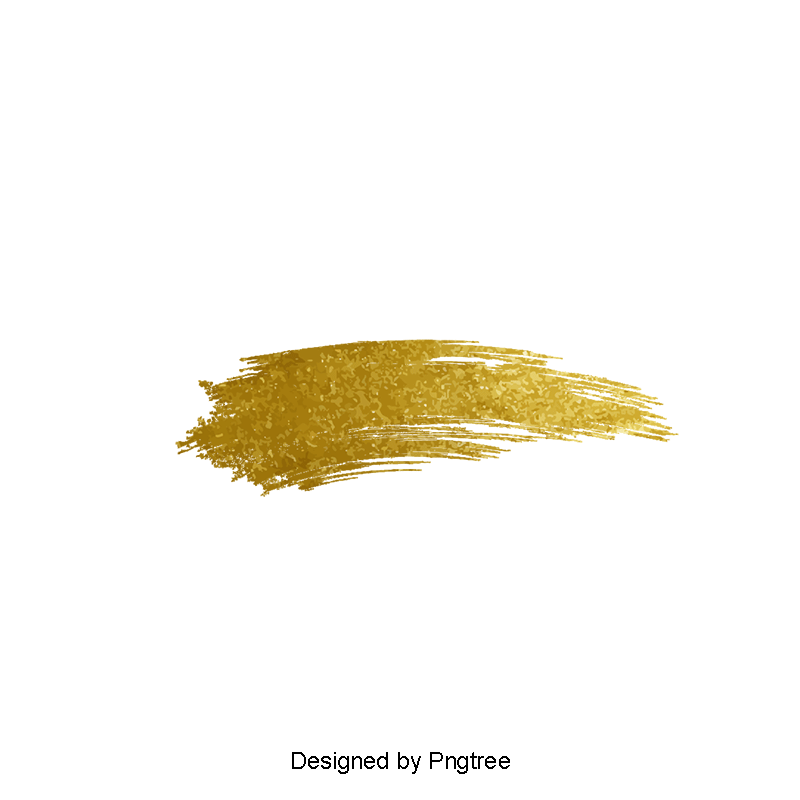 Gold paint png. Color clipart golden and