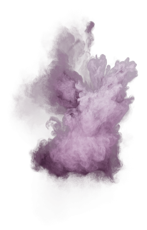 Color dust png. Purple powder explosion free