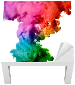 Download rainbow of acrylic. Color explosion png free