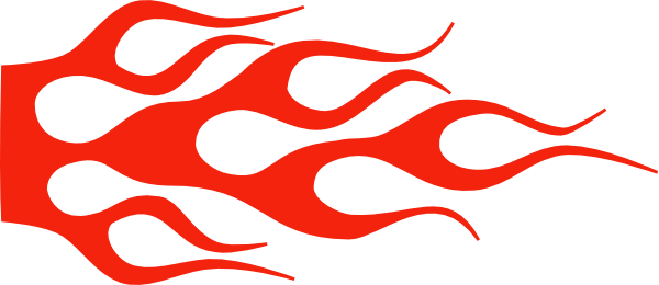 Red flame png. Racing solid color clip