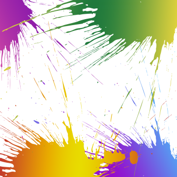 Color lines png. Ink splash images vectors