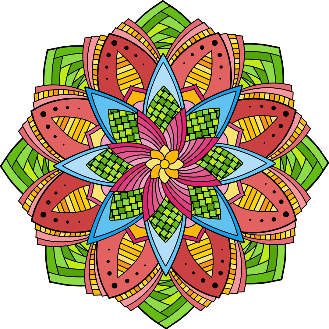 Color mandala png. What happens with you