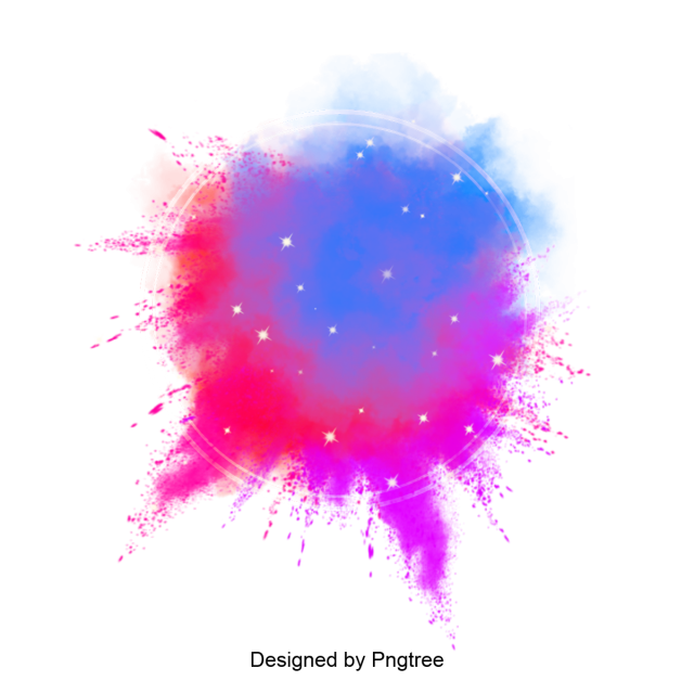 Color paint splatter png. Colorful vector splash and