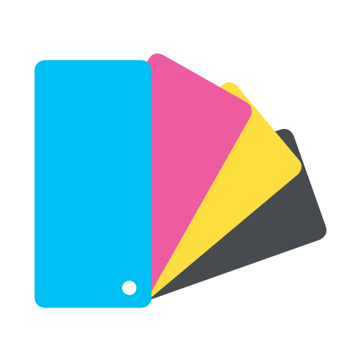 Color paper png. Printing industry by iconpack