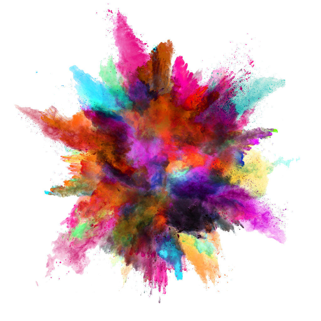 Color powder explosion png. Stock photography explosive transprent