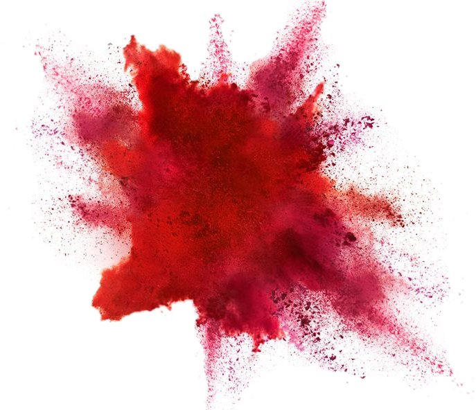 Color powder explosion png. Red sticker by priya
