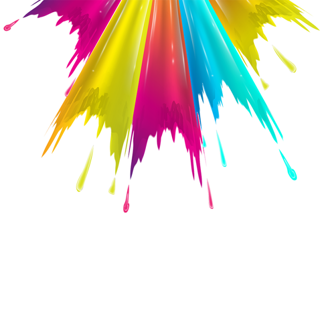 Color splash background png. Colorful pull down vector