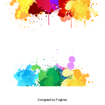 Color splash effect png. Vectors psd and clipart
