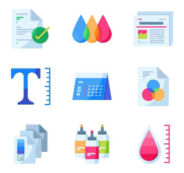 Color svg rgb. Icon packs vector
