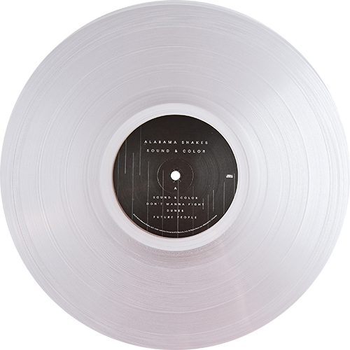 Color vinyl png. Alabama shakes sound colored