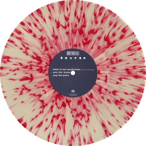 Color vinyl png. Brother ali mourning in