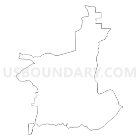 Colorado drawing outline. Voting district teller county
