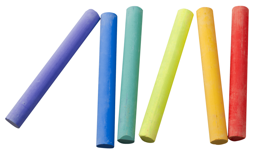 Colored chalk png. Color piece free images
