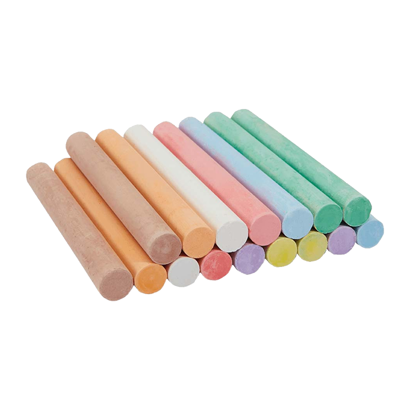 Colored chalk png