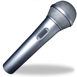 Colored clipart microphone. Stand clip art panda