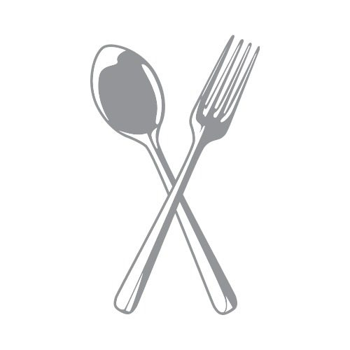 Colored clipart spoon. Fork and c clip