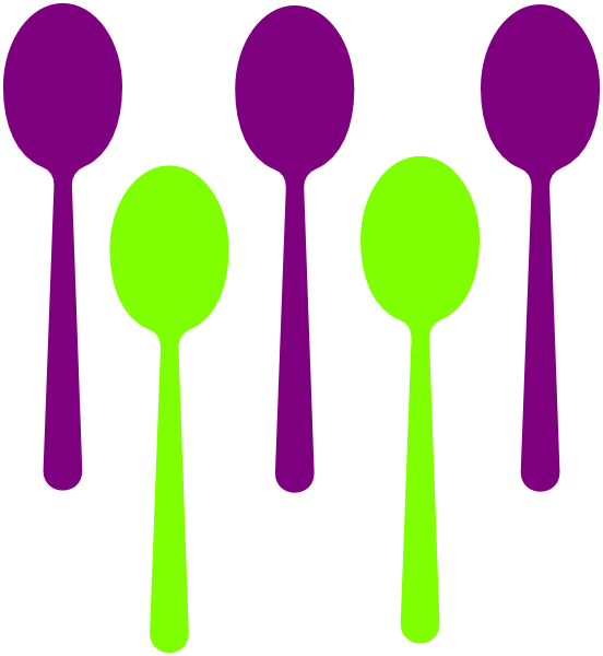 Vector spoon tablespoon. Free spoons cliparts download