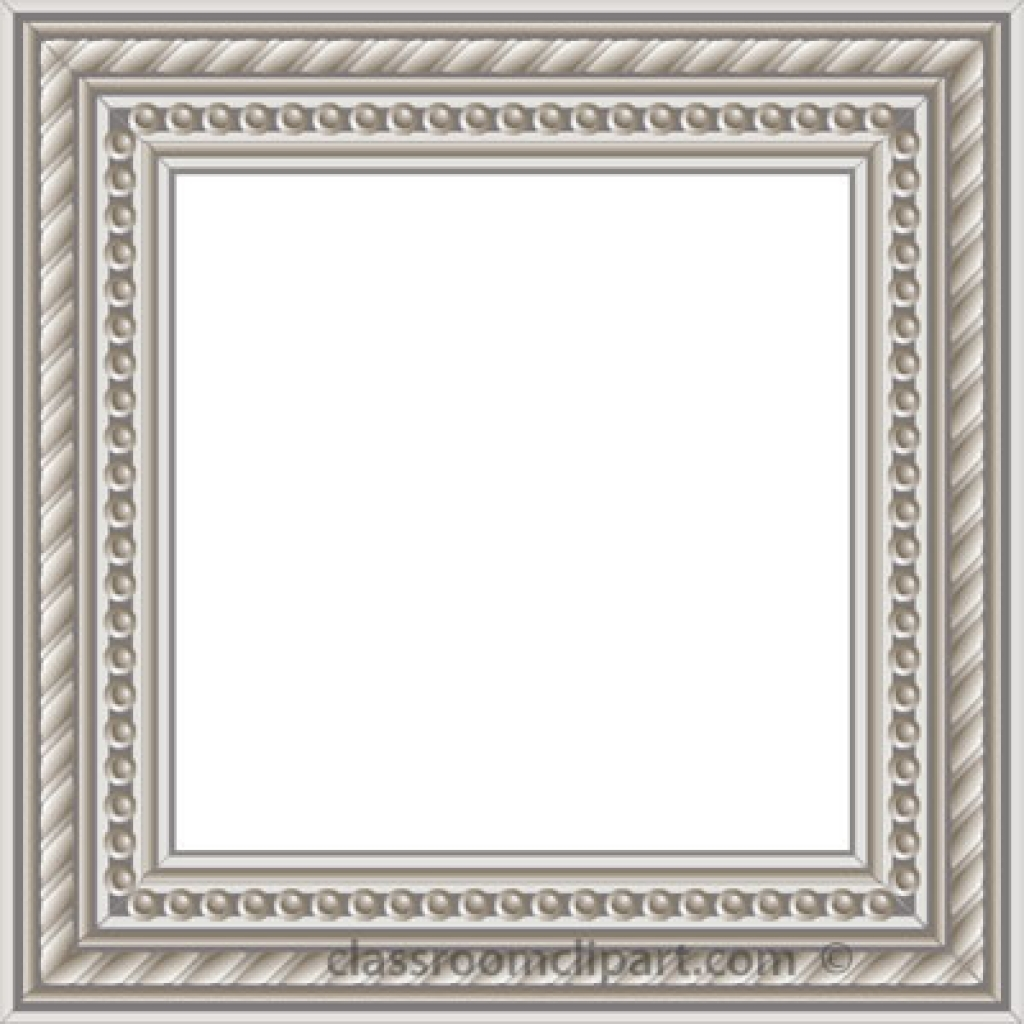 Colored clipart transparent background. Picture frame pencil and