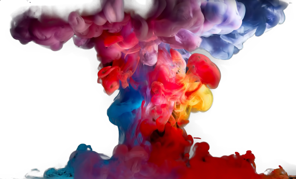 Color smoke png. Colorful clipart by briellefantasy