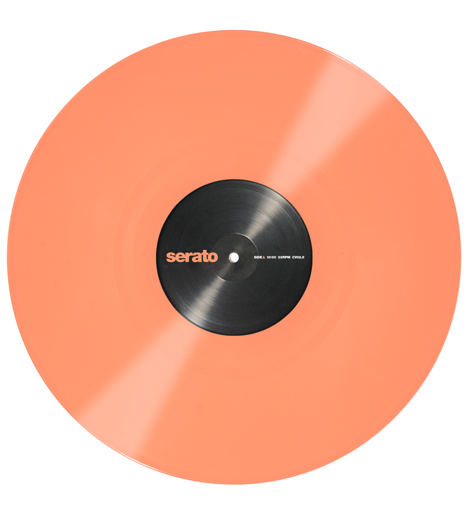 Colored vinyl record png. Serato performance series control