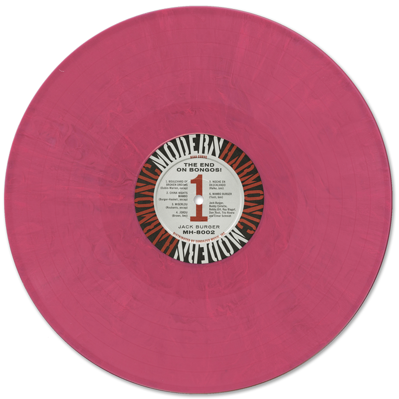 Colored vinyl record png. Jack burger the end