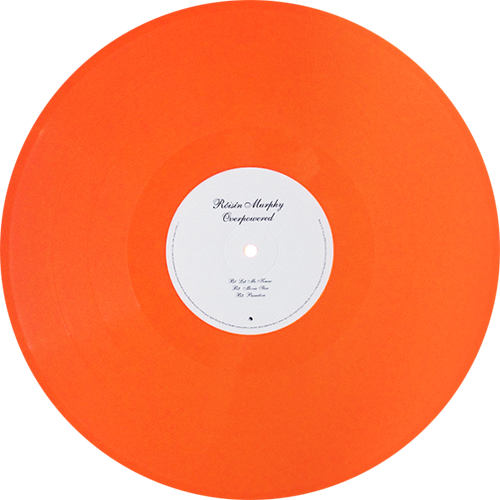 Colored vinyl single png. Roisin murphy overpowered records