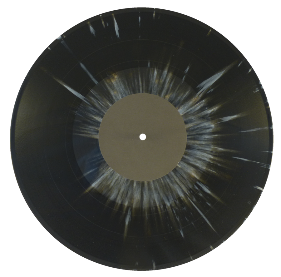 Colored vinyl single png. Gz specials black white