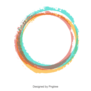 Cool circle designs png. Color border images vectors