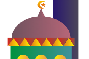 Colorful clipart mosque. Station related wallpapers