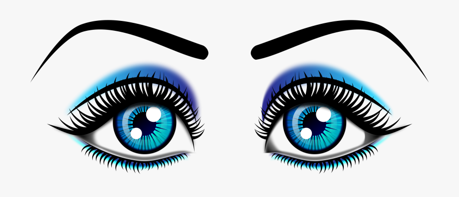 Colorful eyes. Image clip art clipart