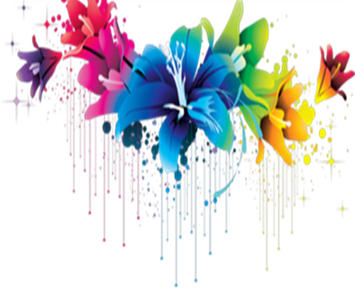 Colorful flower png. Flowers pic mart