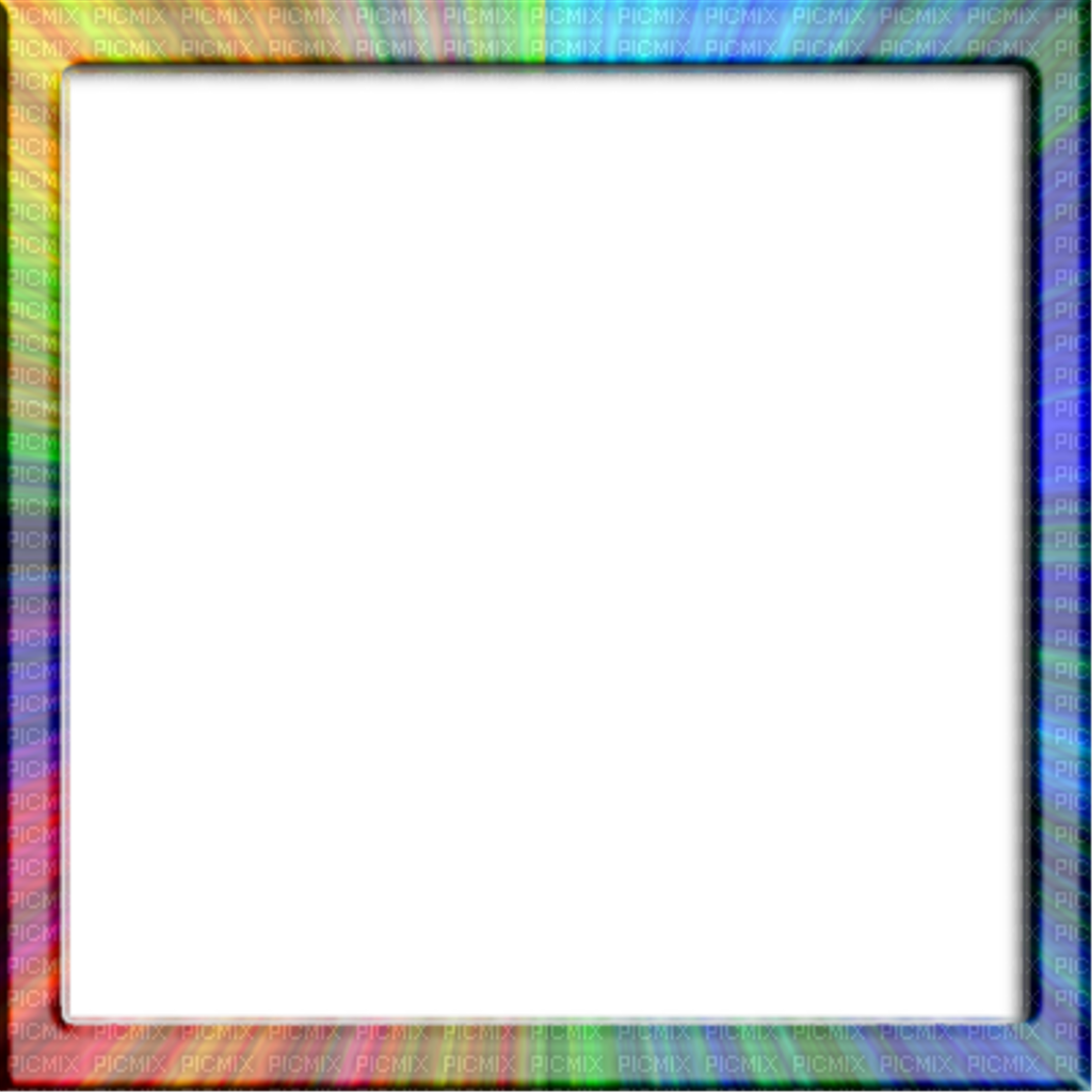Colorful frames and borders png. Frame border rainbow rainbows