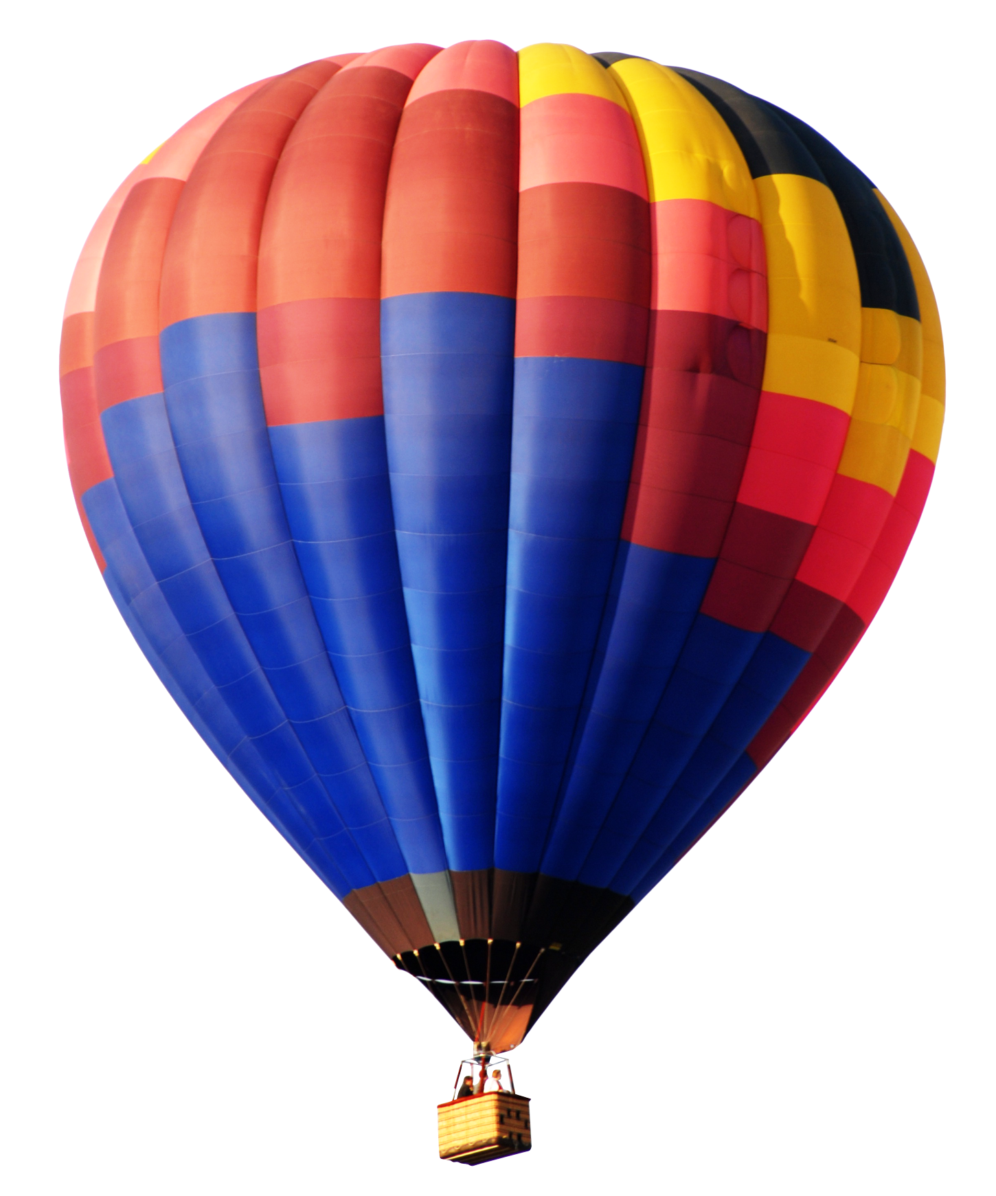 Colorful hot air balloon png. Transparent image best