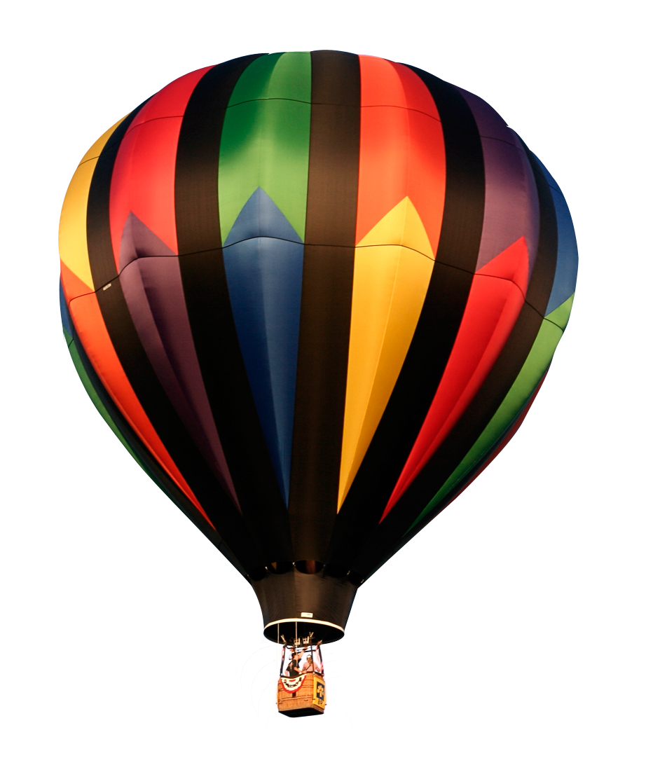 Colorful hot air balloon png. Image transparent best stock