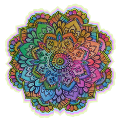 Colorful mandala png. Pin by metta zetty