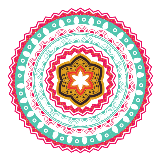Colorful mandala png. Icon icons by canva