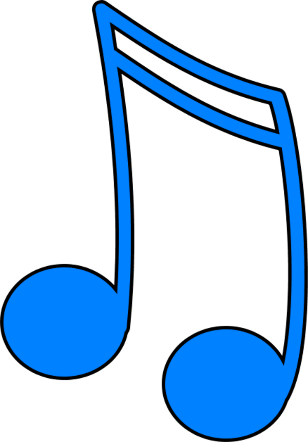Colorful music note png. Collection of notes