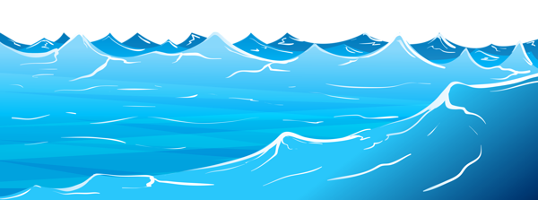 Vector wind wave. Sea picture transparent png