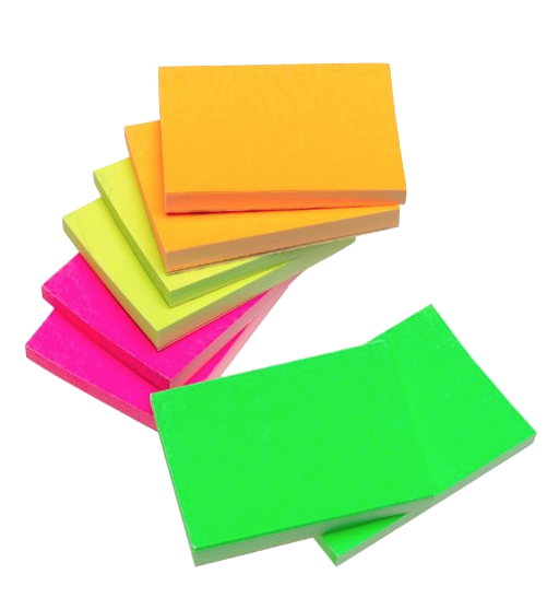 Blog diane hidymy teaching. Colorful post it notes png library