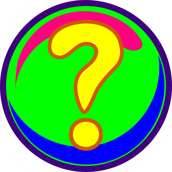 Colorful question marks png. Mark colors clip art