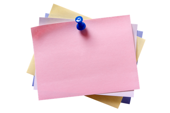 Colorful sticky notes png. Free premium stock photos