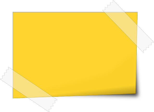 Png sticky note. Free image on pixabay