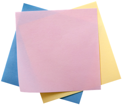 Colorful sticky notes png. Download hd of stack
