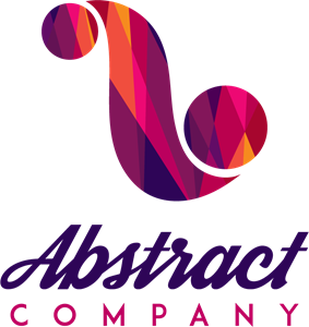 Colorful vector shape. Abstract logo eps free