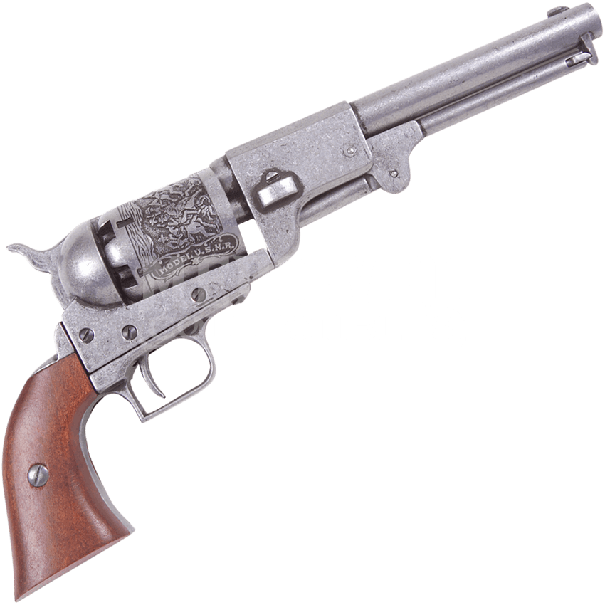Colt revolver png. Pewter dragoon ac g
