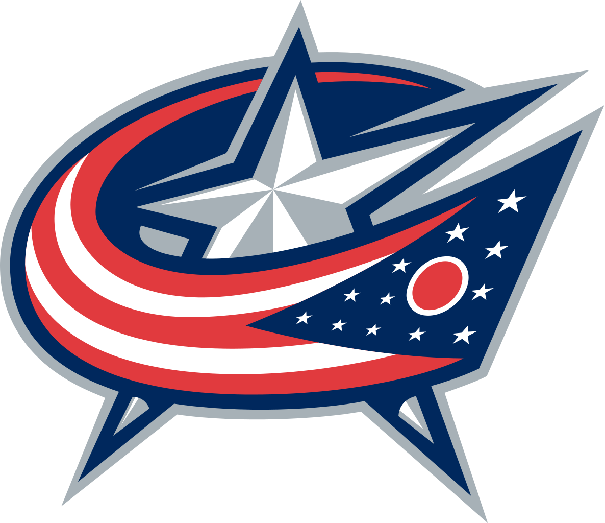 Vector ohio red. The columbus blue jackets