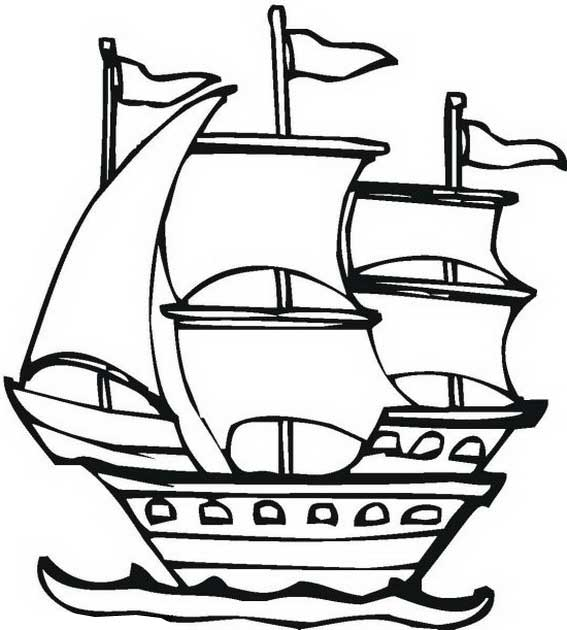 Columbus clipart drawing. Day at getdrawings com