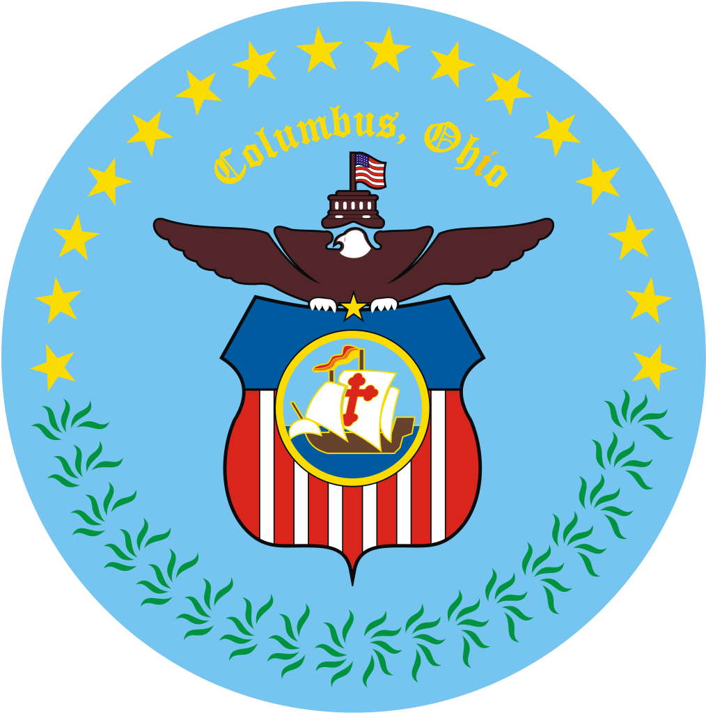 Vector ohio columbus. File seal of svg