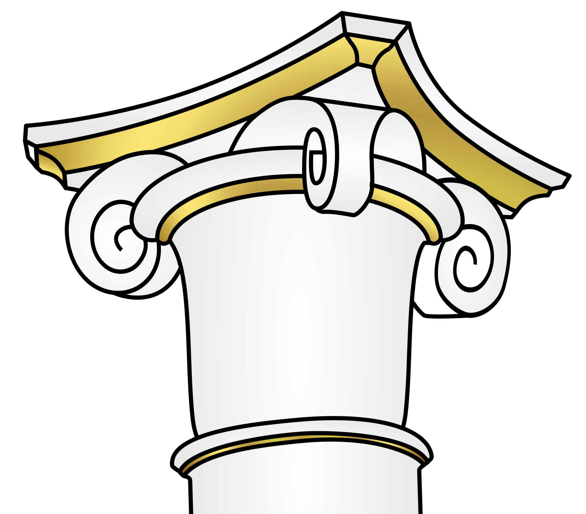 Column clipart svg. File impost wikimedia commons